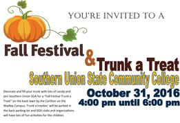 Fall Festival and Trunk - a- Treat