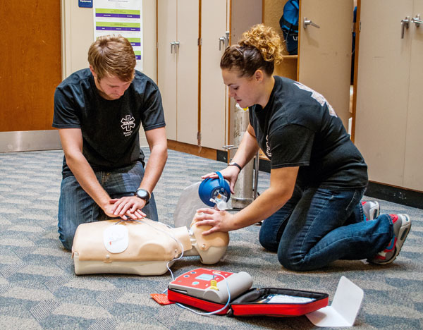 EMT Training at SUSCC