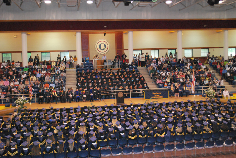 Graduation Ceremony at Southern Union State Community College