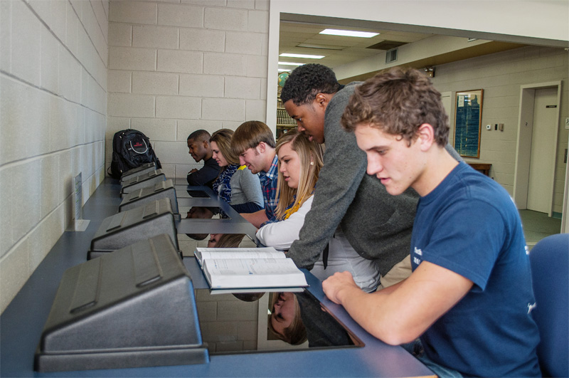 Students at the Wadley Campus Library | Southern Union State Community College